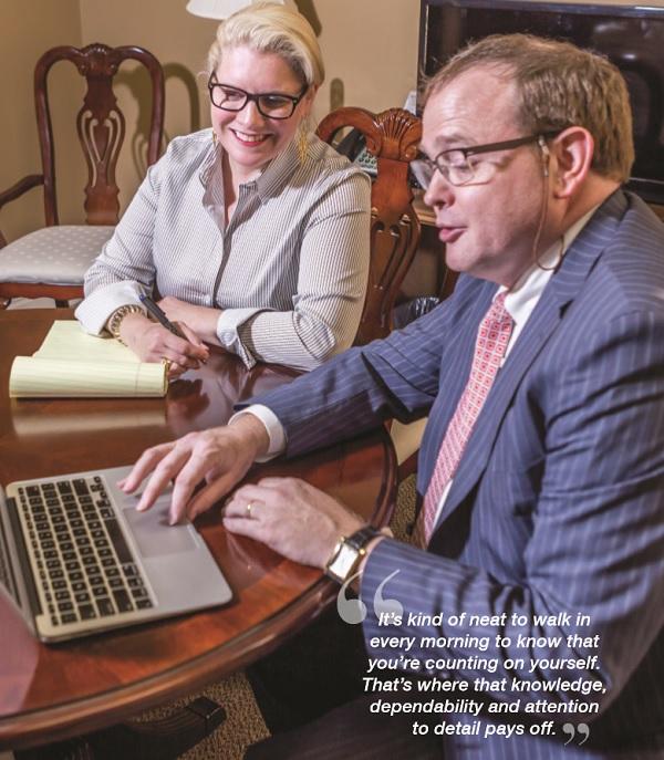Attorney Of The Month – James C Worthington Sr